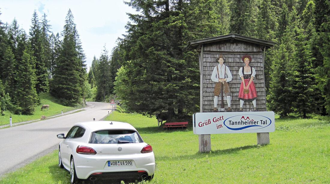 VW Scirocco, Tannheim
