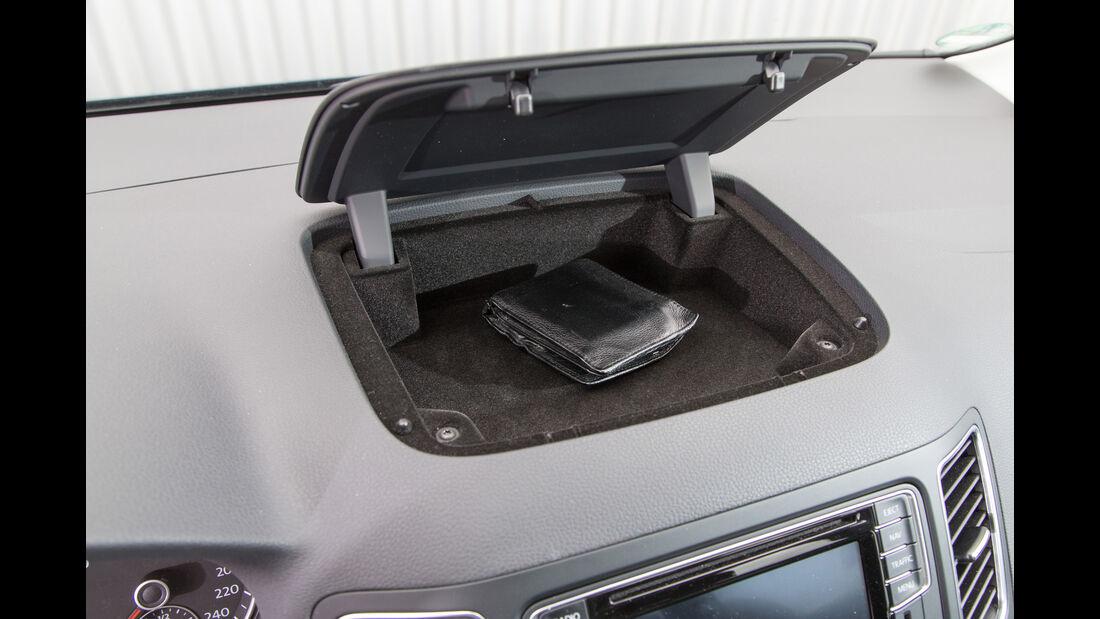 VW Sharan 1.4 TSI, Ablagefach