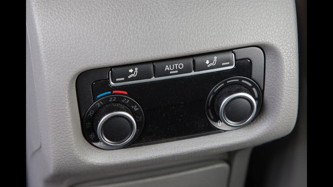 VW Sharan 1.4 TSI, Bedienelemente