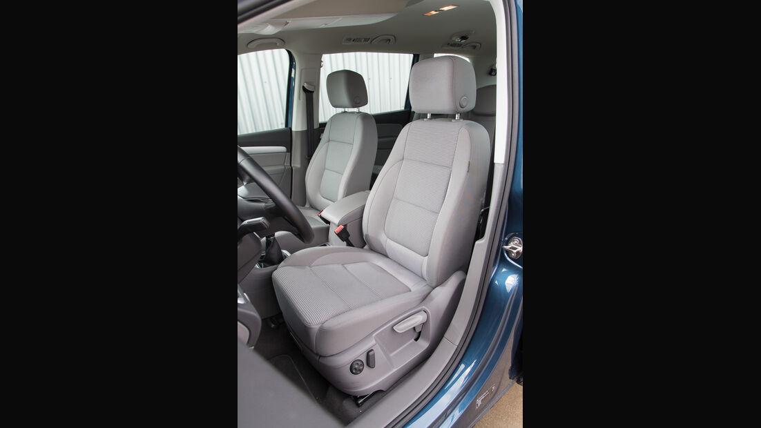 VW Sharan 1.4 TSI, Fahrersitz