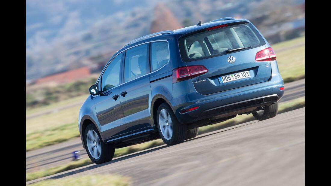 VW Sharan 1.4 TSI, Heckansicht