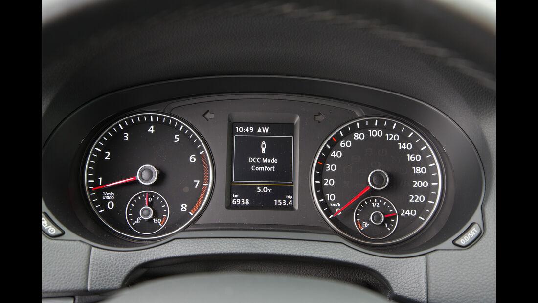 VW Sharan 1.4 TSI, Rundinstrumente