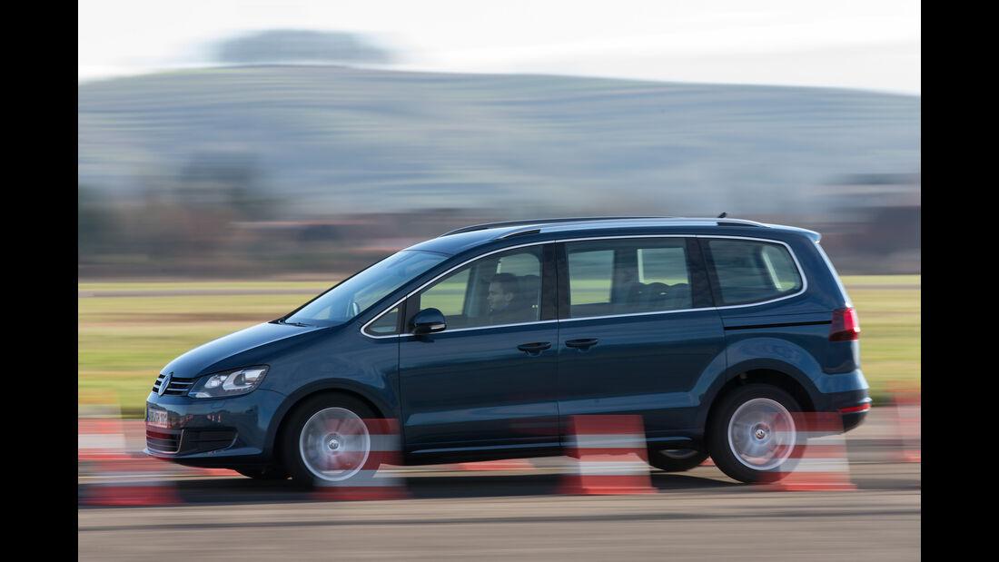 VW Sharan 1.4 TSI, Seitenansicht
