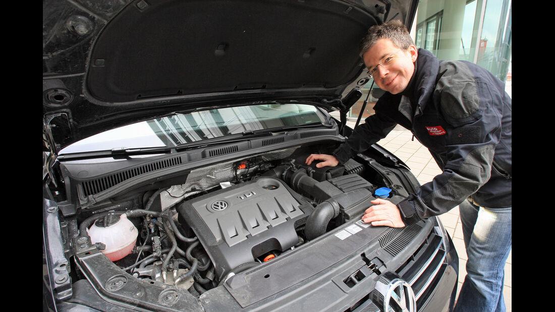 VW Sharan 2.0 TDI, Dirk Gulde, Motor