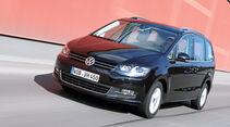 VW Sharan 2.0 TDI, Frontansicht