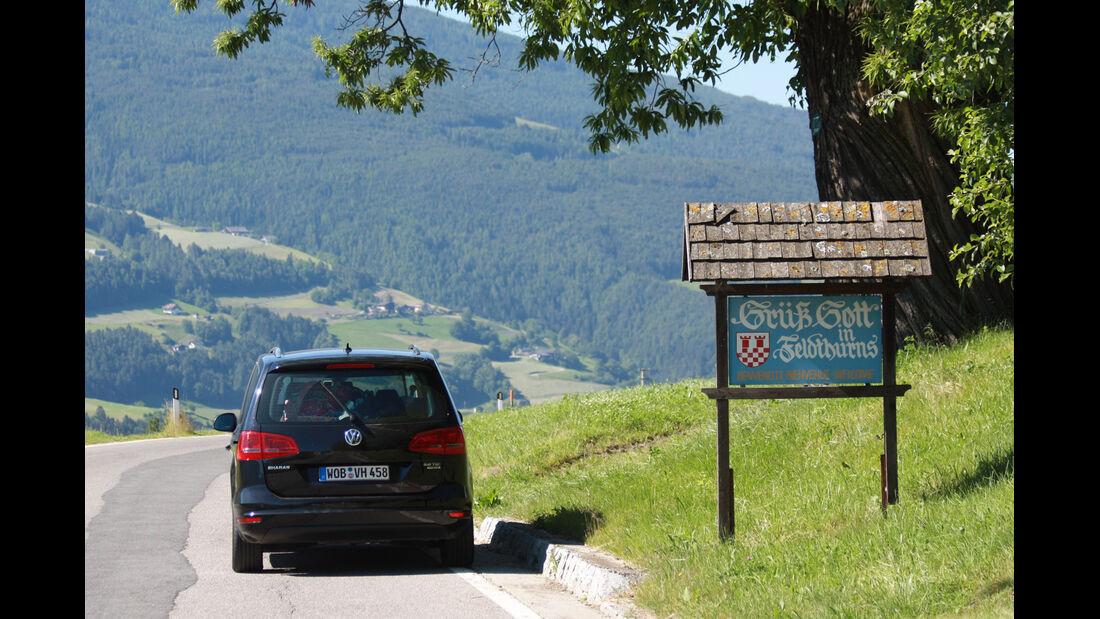 VW Sharan 2.0 TDI, Heckansicht