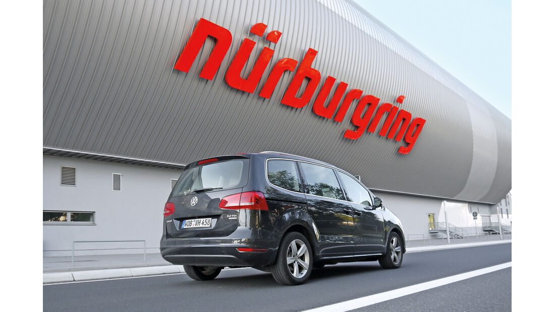 VW Sharan 2.0 TDI, Nürburgring