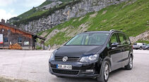 VW Sharan 2.0 TDI, Seitenansicht