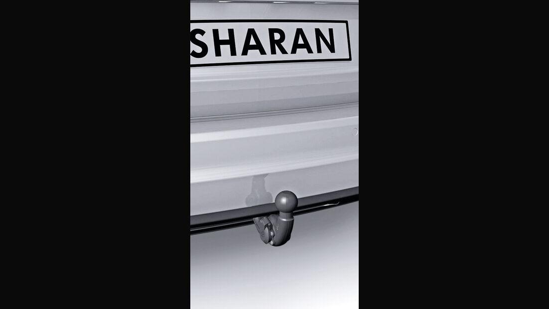 VW Sharan, Anhängerkupplung
