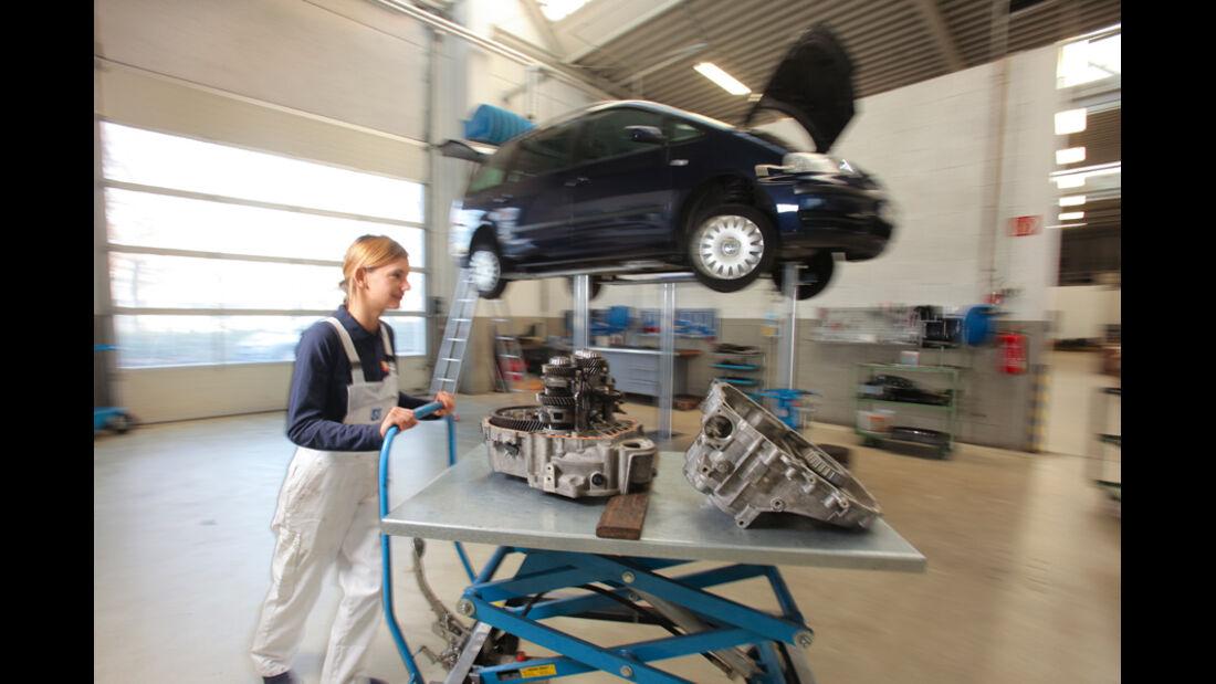 VW Sharan, Anna Matuschek, Werkstatt