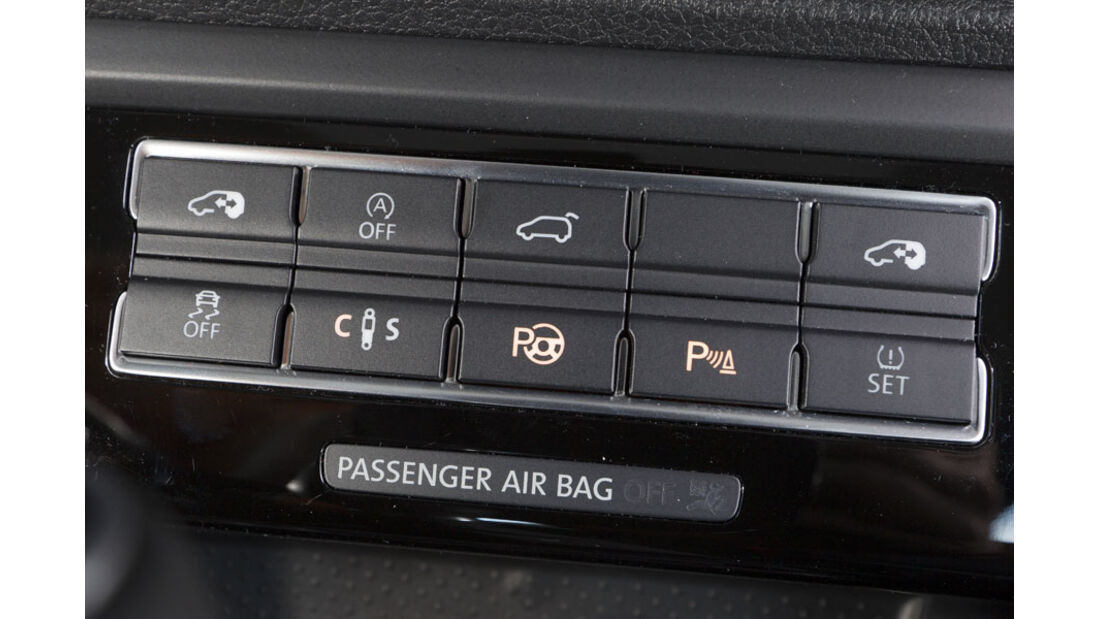 VW Sharan, Assistenzsysteme