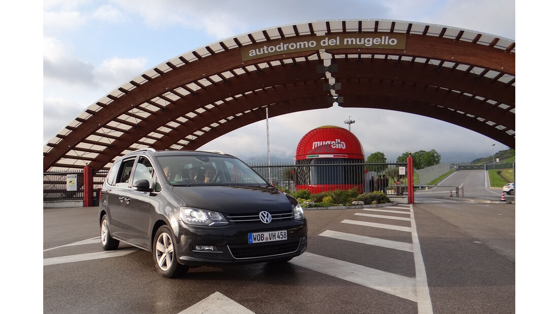 VW Sharan Bluemotion Mugello 2012