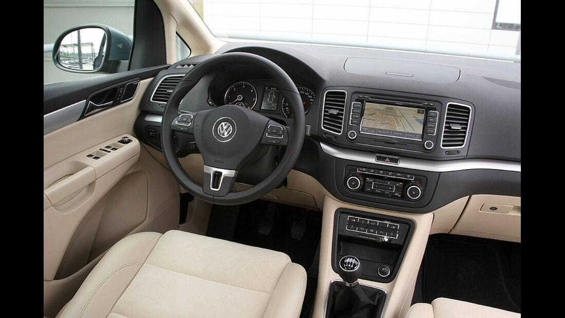 VW Sharan Cockpit