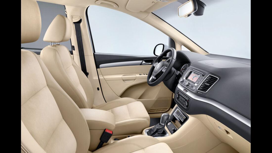 VW Sharan, Cockpit