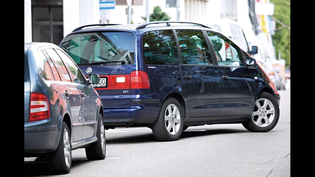VW Sharan, Einparken