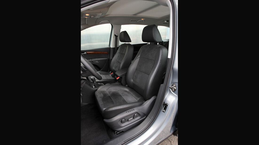 VW Sharan, Fahrersitz