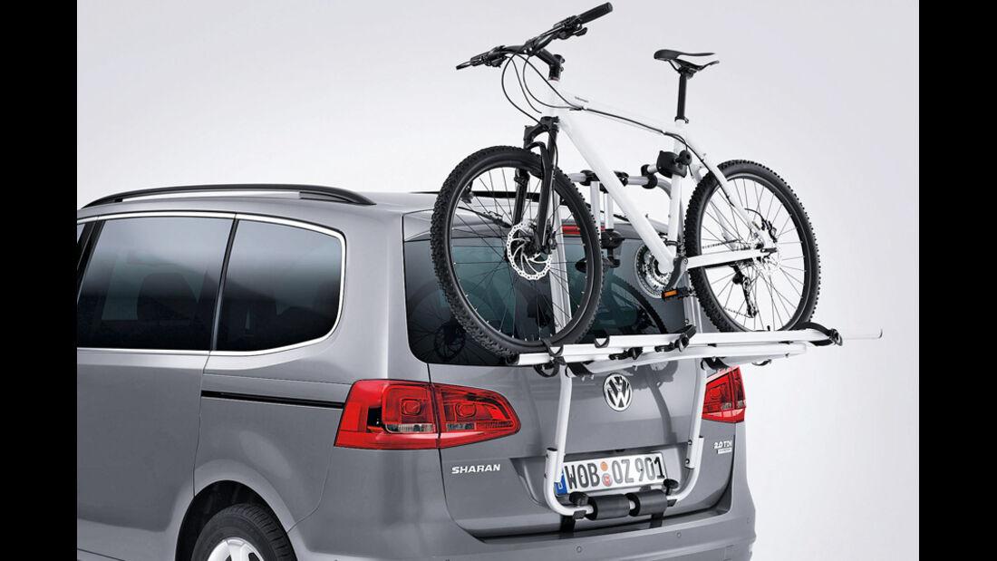 VW Sharan, Fahrradträger