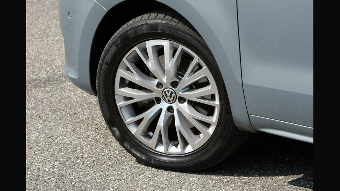 VW Sharan, Felge
