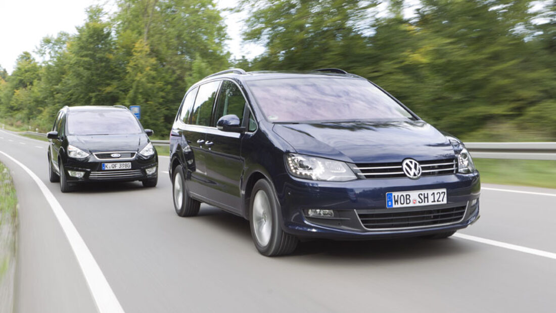 VW Sharan, Ford Galaxy