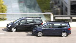 VW Sharan, Ford Galaxy
