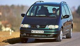 VW Sharan, Frontansicht