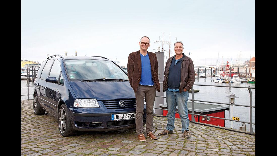 VW Sharan, Hamburg, Hafen