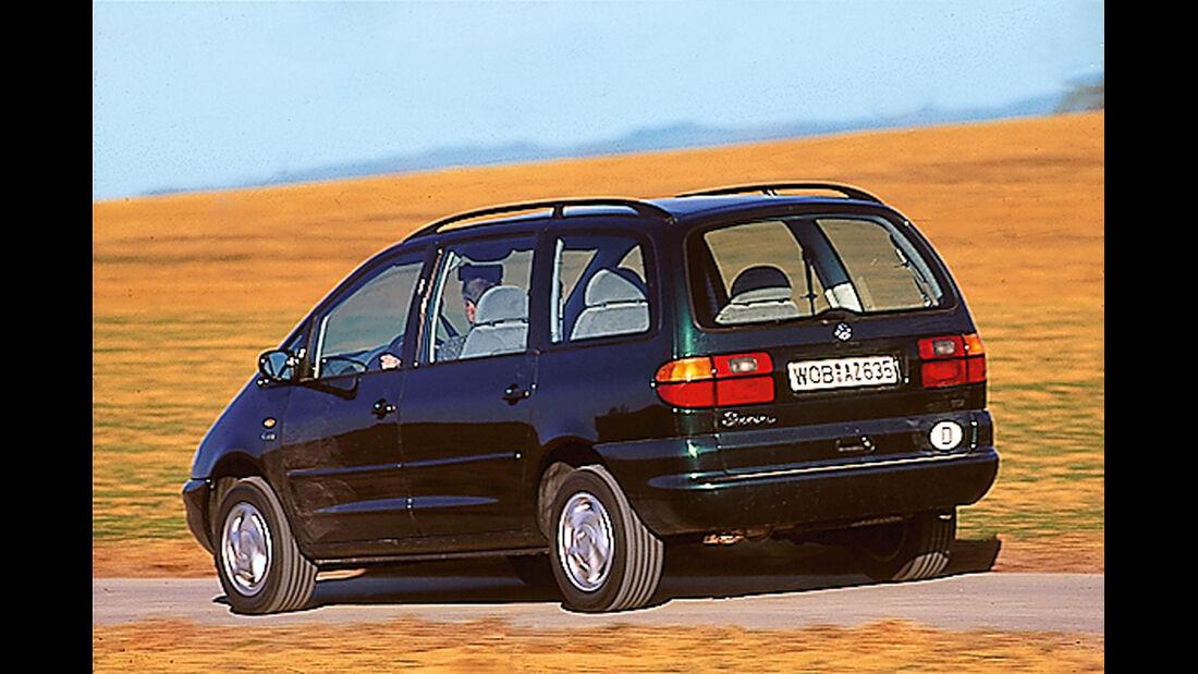 VW Sharan, Heckansicht