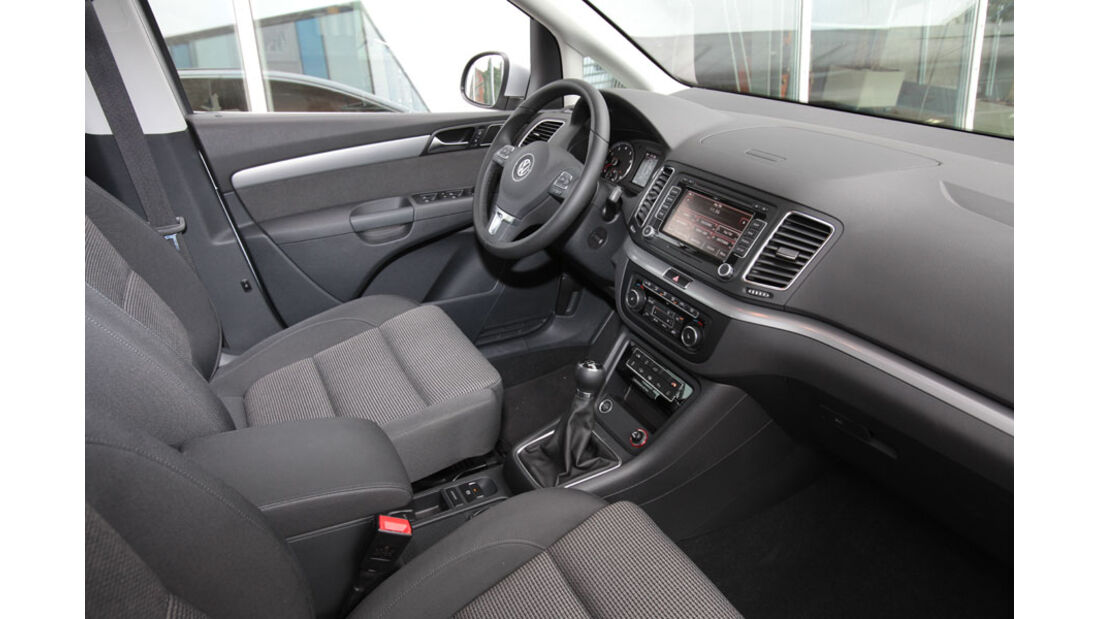 VW Sharan, Innenraum, Cockpit