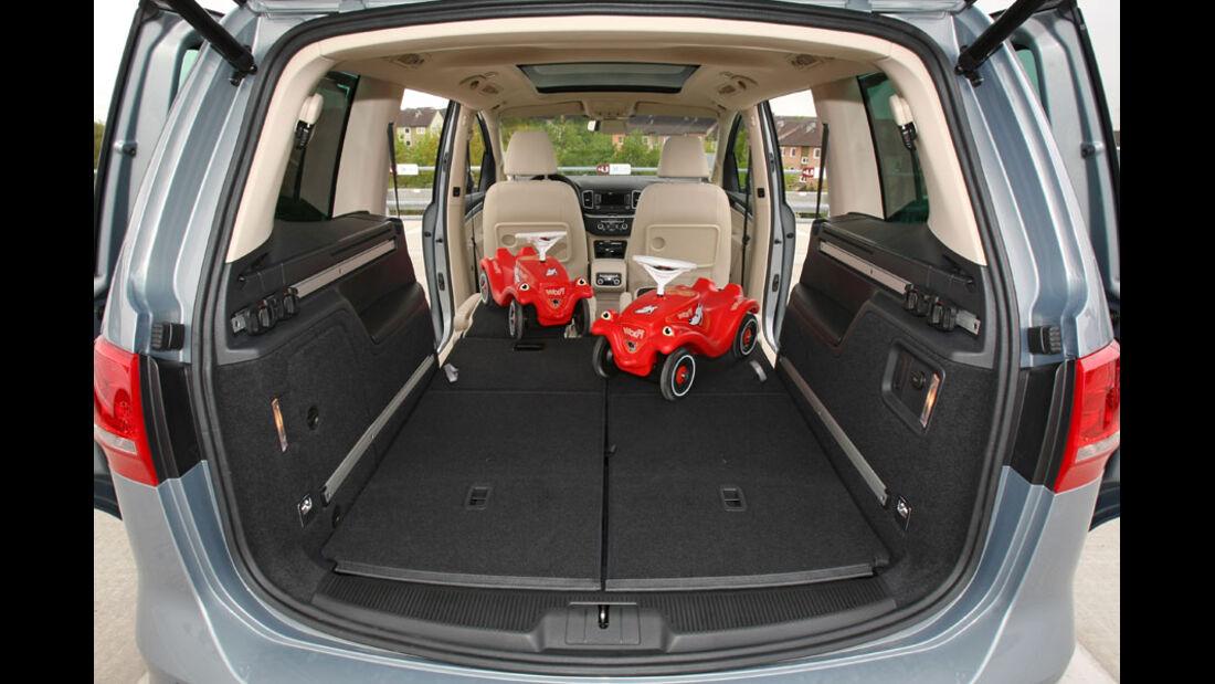 VW Sharan Kofferraum