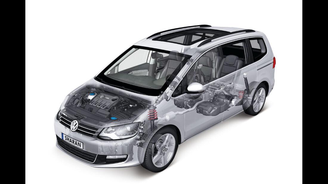 VW Sharan, Motor, 1.4 TSI, 150 PS