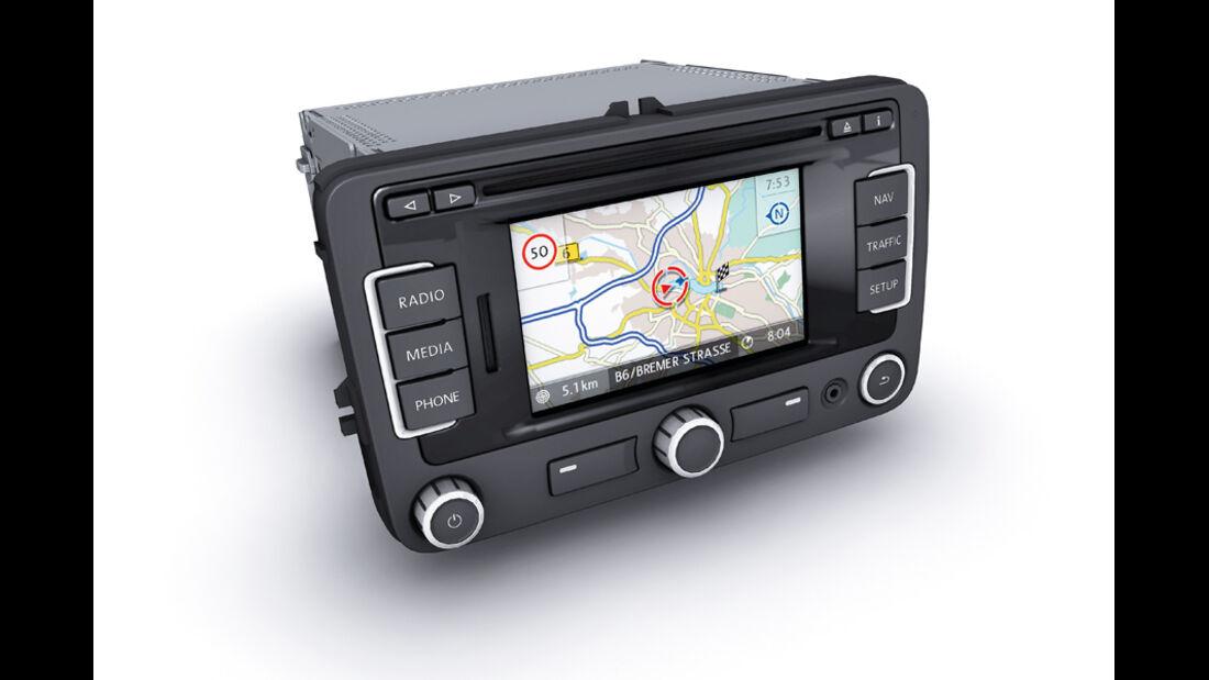 VW Sharan, Multimediasystem