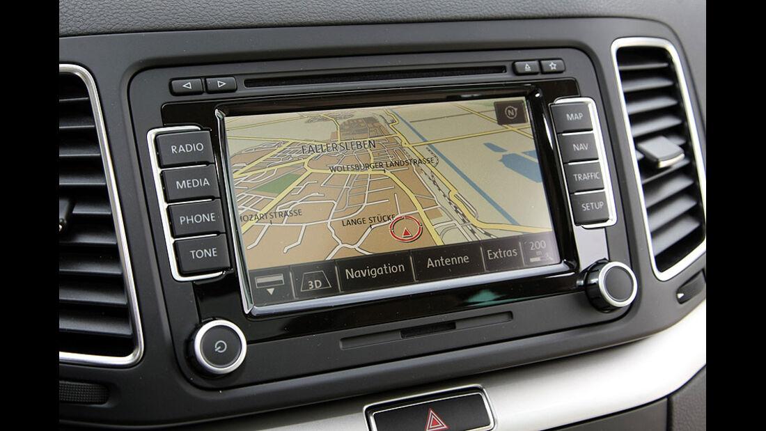 VW Sharan Navigationssystem