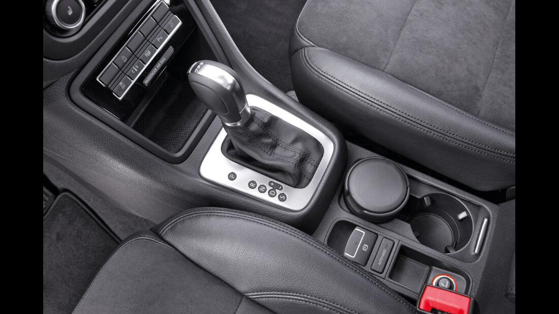VW Sharan, Schaltung, Mittelkonsole
