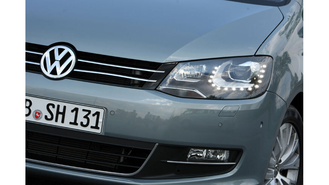VW Sharan, Scheinwerfer