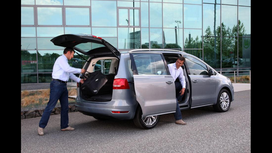VW Sharan, Schiebetür, Heckklappe