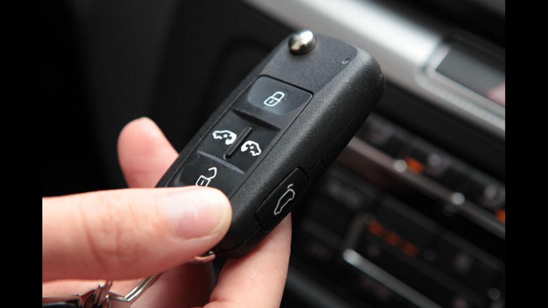 VW Sharan, Schlüssel, Fernbedienung