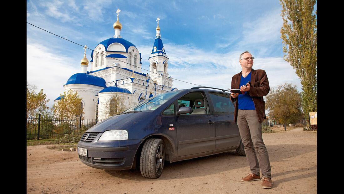 VW Sharan, Straritsa, Kirche