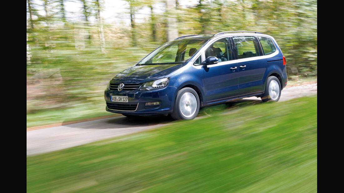 VW Sharan Trendline 1.4, Frontansicht