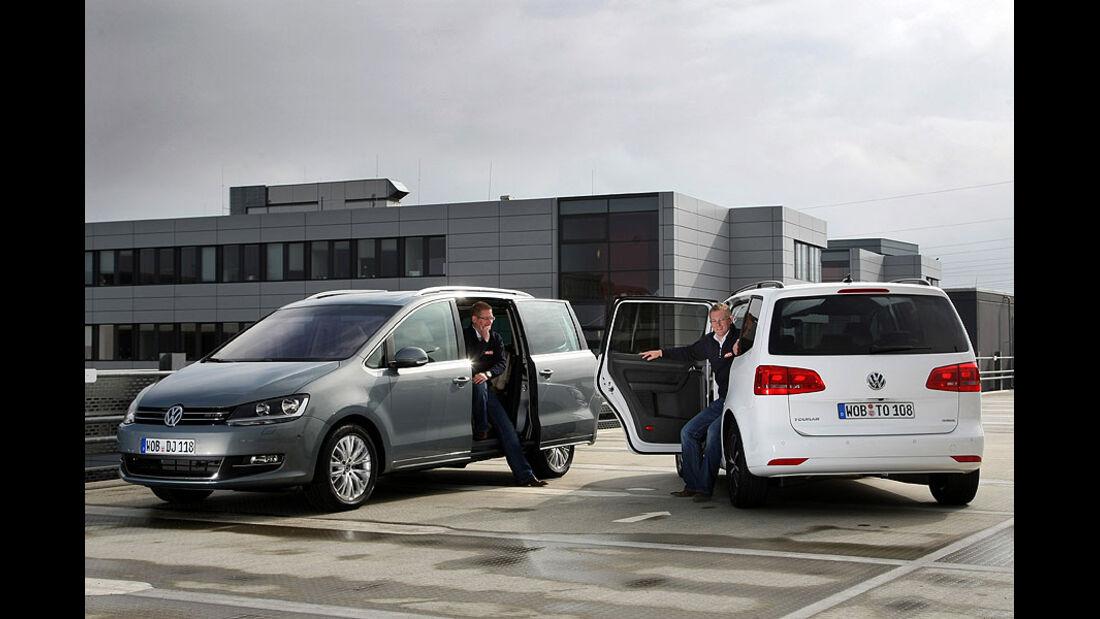 VW Sharan, VW Touran
