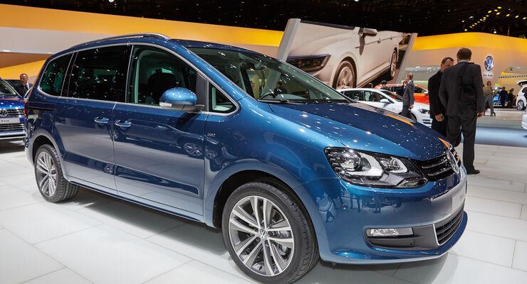 VW Sharan - Van - Genfer Autosalon 2015