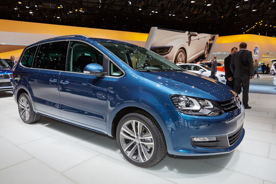 VW Sharan - Van - Genfer Autosalon 2015