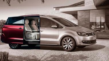 VW Sharan und Viloran
