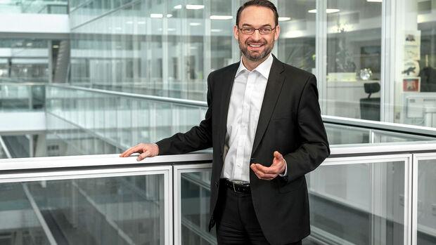 VW Software-Vorstand Christian Senger