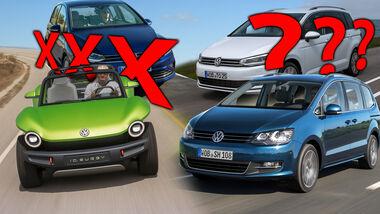 VW Streichliste Touran Sharan Buggy Sportsvan 2020
