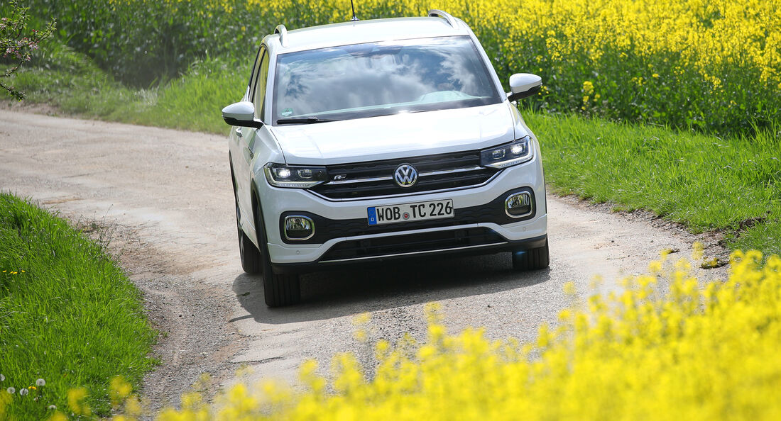 VW T-Cross 1.0 TSI, Exterieur