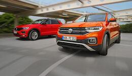 VW T-Cross 1.0 TSI Style, VW T-Roc 1.0 TSI Style, Exterieur
