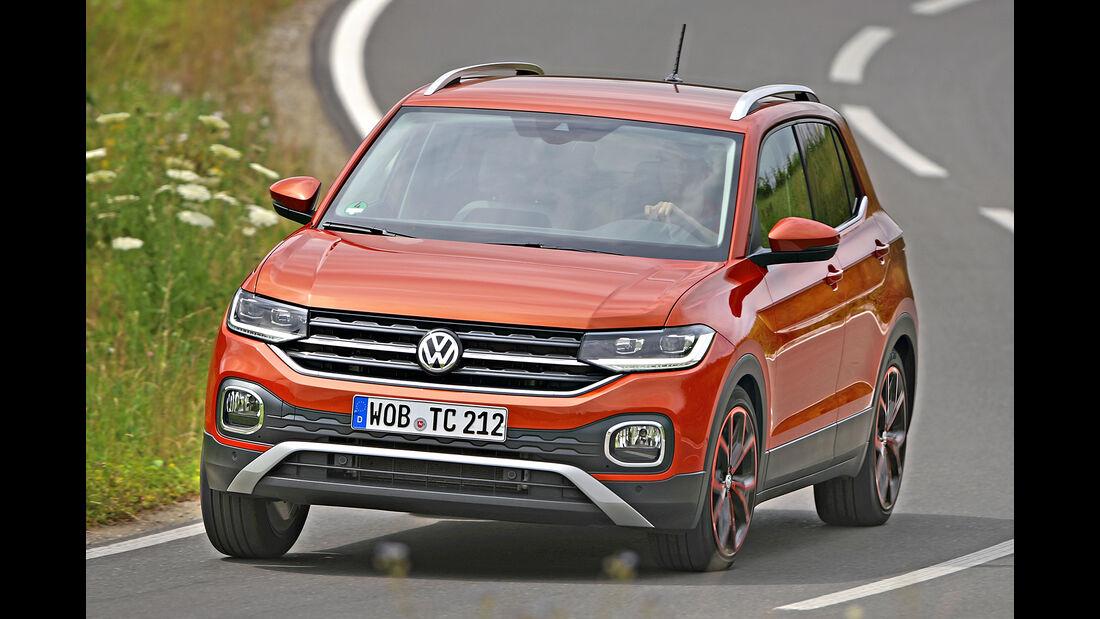 VW T-Cross, Best Cars 2020, Kategorie I Kompakte SUV/Geländewagen