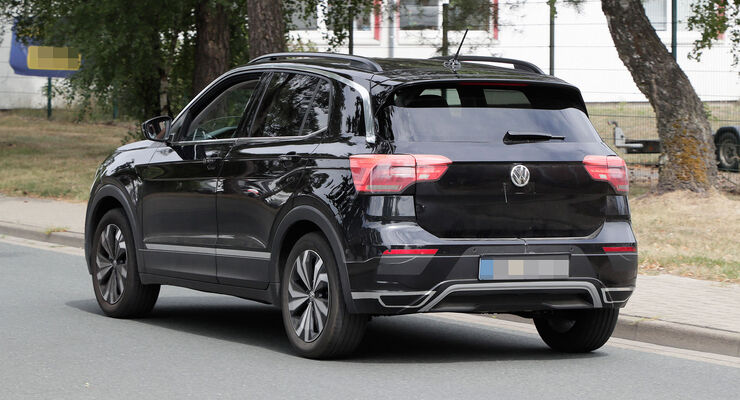 VW T-Cross Erlkönig