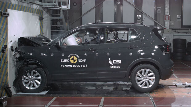 VW T-Cross EuroNCAP-Crashtest