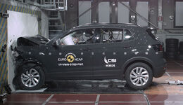 VW T-Cross EuroNCAP-Crashtest